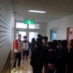 北中学生との交流会