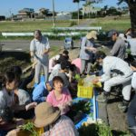 JA青年部との枝豆収穫交流会がありました!!